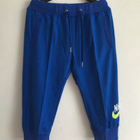 Nike Women Blue Pants Sweatpants