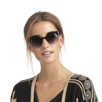 Metal And Plastic Cateye Sunglasses