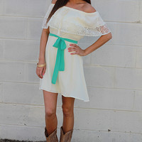 Love And Lace Dress, Ivory
