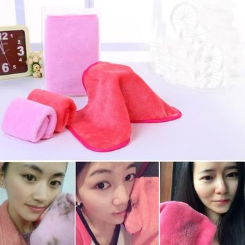 Makeup Remover Microfiber Cloth Pads Remover Towel Face Cleansing Makeup Y1113