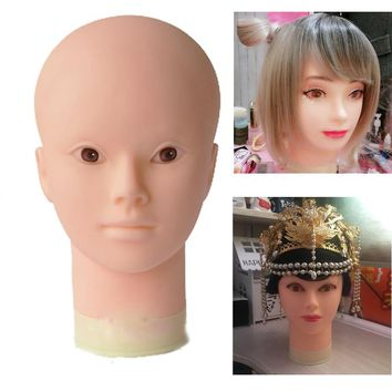 Professional Training Head Cosmetology Mannequin Heads mannequin head for makeup practice dummy mannequin head Hat Display