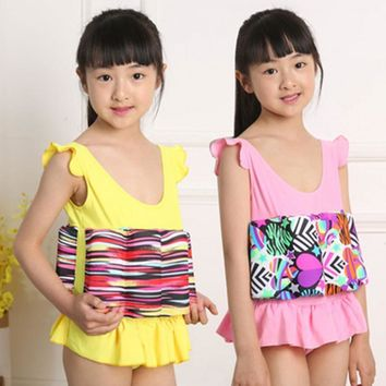 Professional Buoyant Vest Swimming Suits Children swimwear swimsuit for kids Boys Girls Buoyancy Swimsuit Swimming Aid