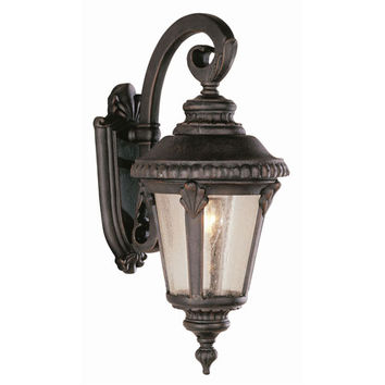 Trans Globe Lighting 5043VG 19 Inch High Outdoor Coach Light -Verde Green - (In VG-Verde Green)