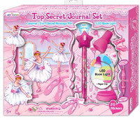 Hot Focus Ballerina Top Secret Journal Set