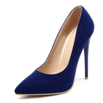 Pumps 12cm 10cm Heel Height up to Size 14 (28.5cm EU 46.5 CN 47)