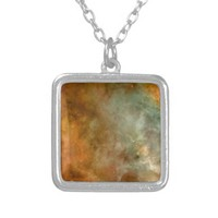 Carina Nebula NGC3372 Personalized Necklace