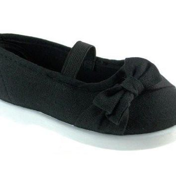 Toddler Girls Adore-55I Canvas Mary Jane Flat Shoes