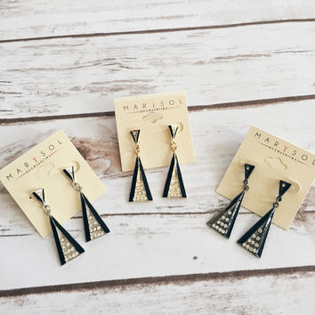 Ella Triangle Earrings