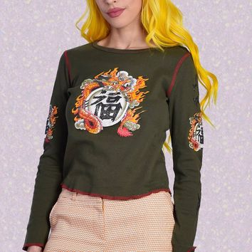ECH Vintage Dragon Top