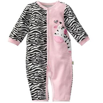 Zebra Baby Rompers Baby Girls clothes Body suits One-piece Romper bebe jumpsuit newborn roupa bebes infantil months Pajamas