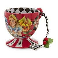 Alice in Wonderland Tea Cup Ornament - Alice | Disney Store