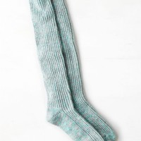 AEO Women's Shimmery Knit Boot Sock