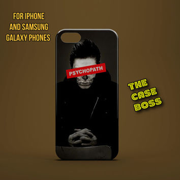 HORROR PSYCHOPATH STUDENT Design Custom Phone Case for iPhone 6 6 Plus iPhone 5 5s 5c iphone 4 4s Samsung Galaxy S3 S4 S5 Note3 Note4 Fast!