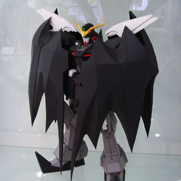 Deathscythe Gundam ,Create your own Gundam,Instant Pdf download,Pattern,Paper toys,Handmade,paper, Paper Gundam,Paper Crafts,3Dpaper,hobby