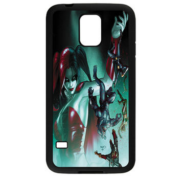HARLEY QUINN (SUICIDE SQUAD) TPU BUMPER SAMSUNG GALAXY S5