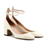 Valentino TAN-GO PATENT-LEATHER PUMPS