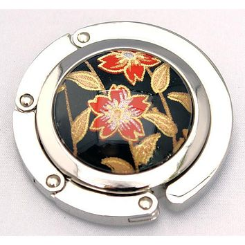 Urushi Japanese Garden Chiyogami Folding Purse Hook