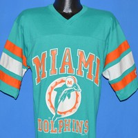 80s Miami Dolphins Jersey t-shirt Large