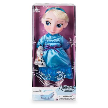 Disney 2019 Animators' Collection Frozen Elsa with Olaf Doll New with Box
