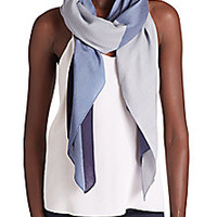 Tory Burch - Mosaic-Print Wool Scarf - Saks Fifth Avenue Mobile