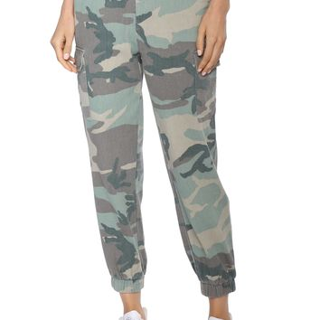 Brooklyn Karma With The Pack Camo Joggers