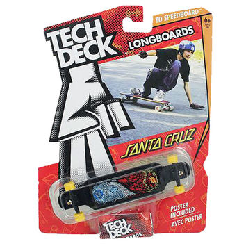 Tech Deck Longboards Santa Cruz [Black]