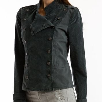 Shelly Military Cord Jacket