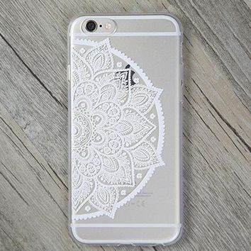 Lace Cover Case for iPhone 5s 5se 6 6s Plus Gift + Gift Box-170928