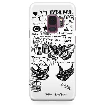1D Harry Styles Tattoos Samsung Galaxy S9 Plus Case | Casefantasy