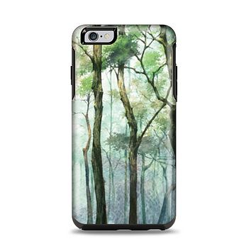 The Watercolor Glowing Sky Forrest Apple iPhone 6 Plus Otterbox Symmetry Case Skin Set