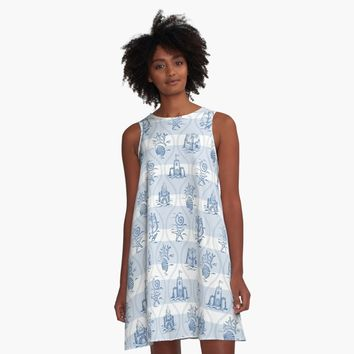 """Untitled"" A-Line Dress by miavaldez 