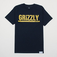 Diamond Supply Co - Grizzly Metallic Stamp T-Shirt