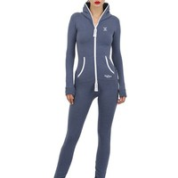 ONEPIECE - SLIM STRETCH COTTON JUMPSUIT - LUISAVIAROMA - LUXURY SHOPPING WORLDWIDE SHIPPING - FLORENCE