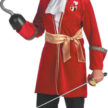 Peter Pan Disney Captain Hook Toddler / Child Costume - (7/8)