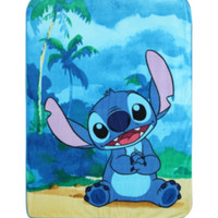 Disney Lilo & Stitch Beach Super Plush Throw