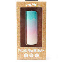 Flower Print Phone Power Bank