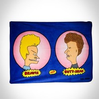 Beavis and Butthead Micro Raschel Fleece Blanket