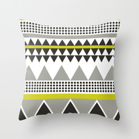 Modern V.3 Throw Pillow by C Designz