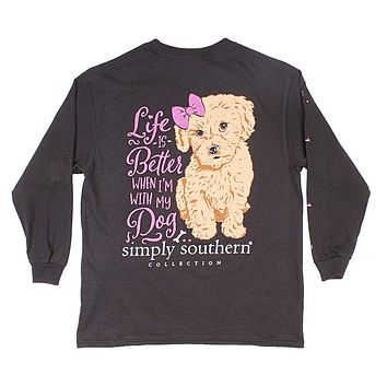Youth Better Tee in Black by Simply Southern