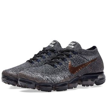 Men's Nike Air Vapormax Flyknit Black/Metallic Red Bronze | X-Plore Pack 849558 010 size 12