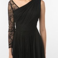 UrbanOutfitters.com > Tripp NYC One-Sleeve Lace Dress