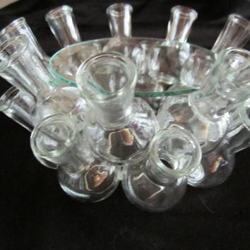 Wedding Table Centerpiece Glass bottle Table Unique Ornate Stylish Center Piece Conver