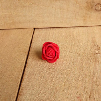 Dreadlock bead, dread bead, PE foam rose bead, hair jewelry, dreadlocks bead, boho hair jewelry