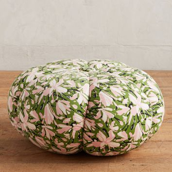 WHIT Floral-Printed Pouf