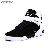CKCKNEO Men's Basketball Shoes High-Top Breathable classic Sneakers air Male Trainers