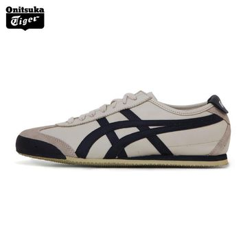 auguau Onitsuka Tiger MEXICO66  Unisex Shoes Classical Color Lightweight Men Sport Shoes Breathable Women Sneakers