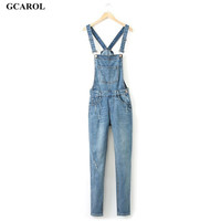 Women Ripped Hole Denim Jumpsuits Ladies Sexy Slim Casual Romper Plus Siz 42 Denim Pencil Overalls For 4 season