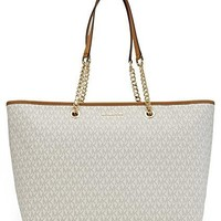MICHAEL Michael Kors Signature Jet Set Travel Medium Multifunction Tote Michael Kors bag