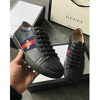 Gucci New Fashion Embroidery Floral Old Skool Women Men Sneakers Sport Shoes