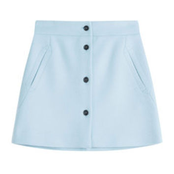 Wool Mini Skirt - Paul & Joe | WOMEN | DE STYLEBOP.COM